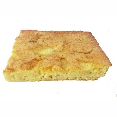 Gâteau aux pommes, sans lactose